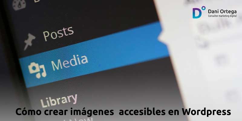 Cómo crear imágenes accesibles en WordPress